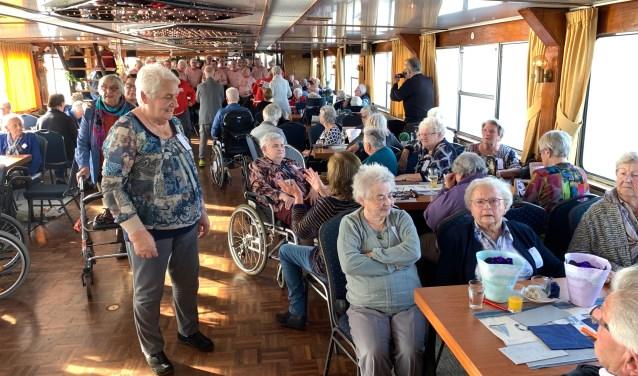 gasten van de boottocht