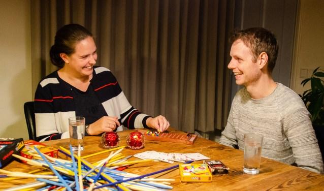 Ellen Bloemen en Kay Lucas organiseren het Land van Cuijk Single Event. (foto: Timmy Barten)