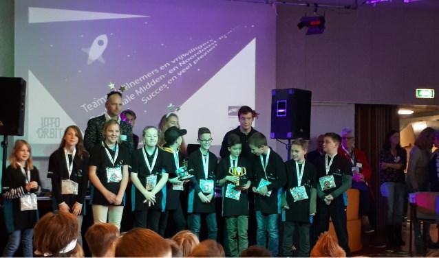 Uitreiking prijs FLL. Foto: R. Coenen
