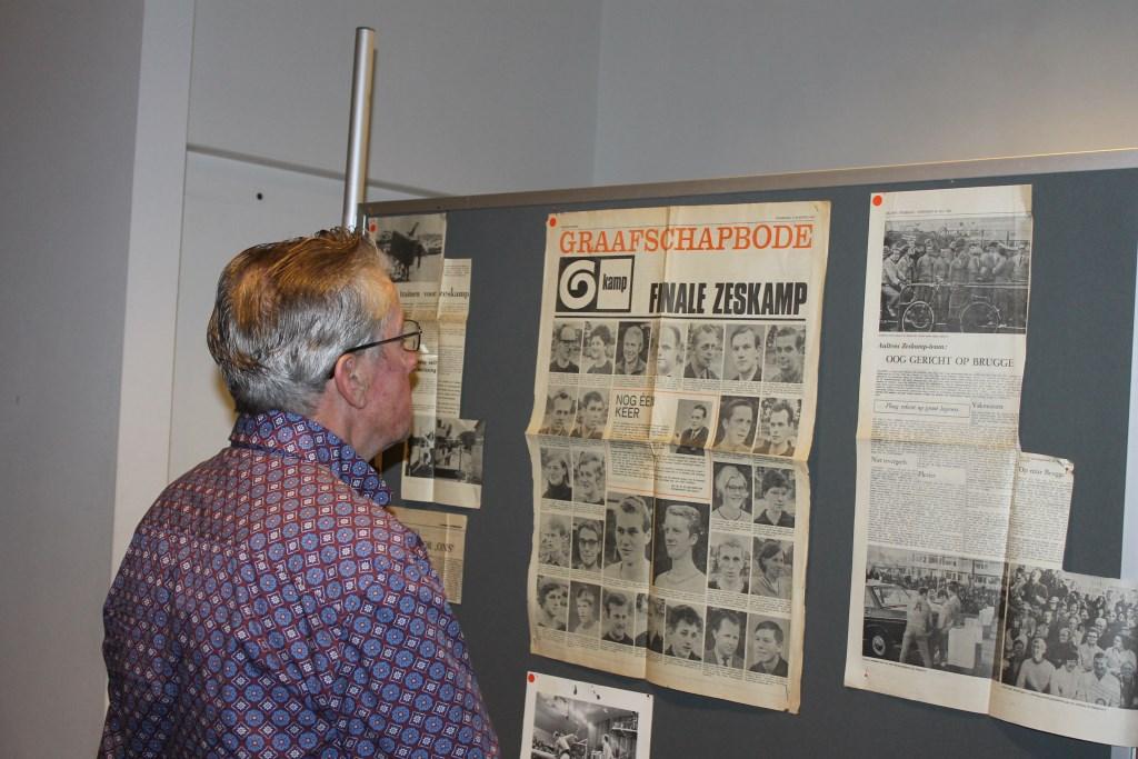 Het Zeskamp-gebeuren kreeg destijds volop aandacht in de regionale media. Foto: Leo van der Linde © Persgroep