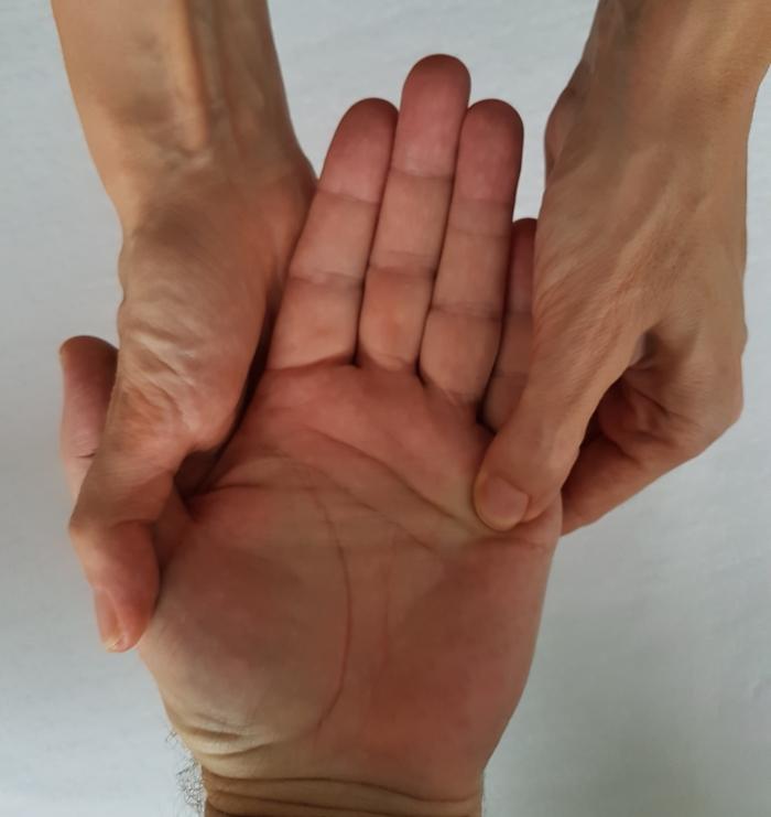 De Bruyn Koeriers.Activiteit Workshop Handreflexologie Gouwe Koerier