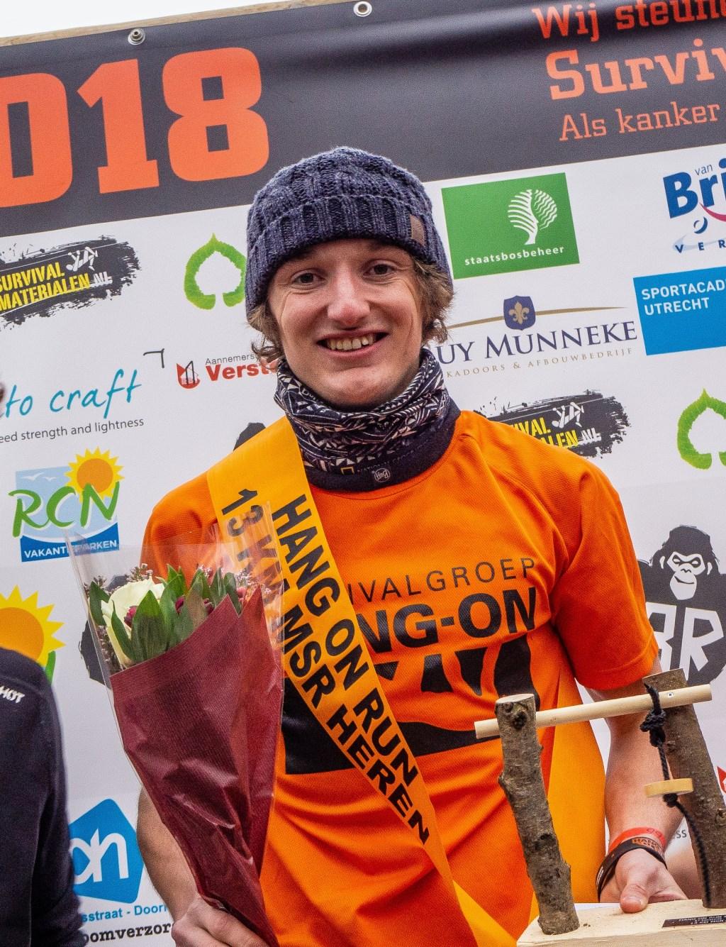 Jesse de Heer wint topklasse 13 km Foto: Sanne Mallant © Persgroep