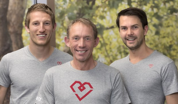 Glenn Nijhuis, Wiljan Visser en Sylvian Schuman van BioCheck Wageningen.