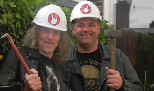 Richard en Gerrit. (Foto: Privé