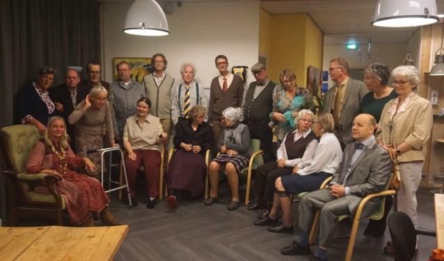 De cast van Marg(r)ootje. Anderhalf uur spanning zonder pauze. (Foto: Joyce Kets-Groenendijk)