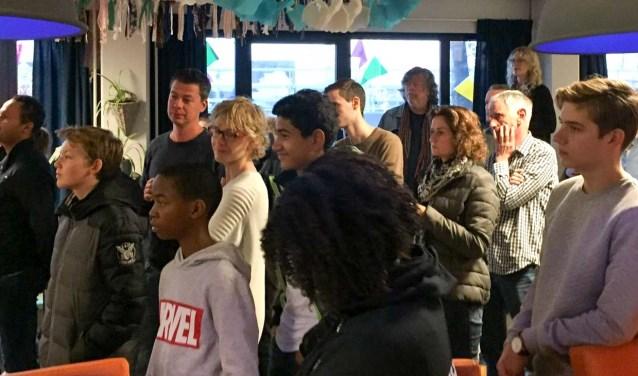 Publiek tijdens de opening