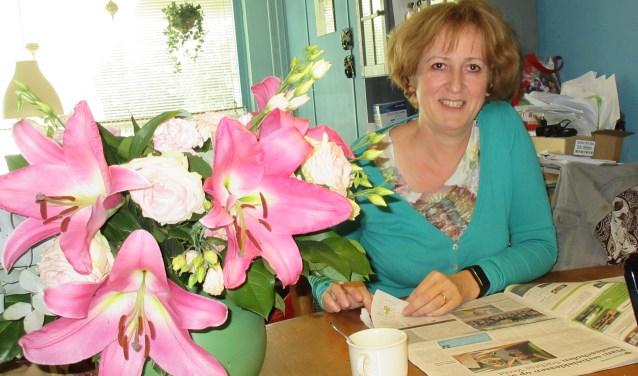 Vera Vandervesse organiseert een creatieve cursusmarkt in januari. Foto: Ria van Vredendaal