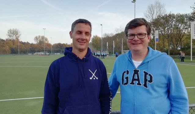 Wolter Manders (links) en Martijn Kruijt (rechts) streven naar sport voor iedereen. Foto: Ben Giesbers.