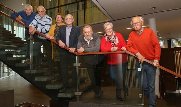 Het nieuwe bestuur. (foto Marco van den Broek)