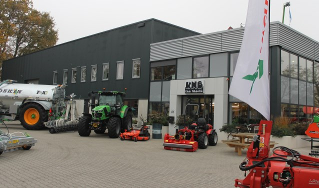 Open dagen bij Landbouwmechanisatiebedrijf Klein Nibbelink in Bredevoort.