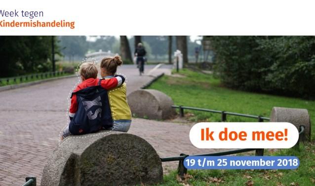 Promotiemateriaal Week tegen Kindermishandeling
