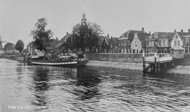 Aanzicht Voorstraat Lekkerkerk
