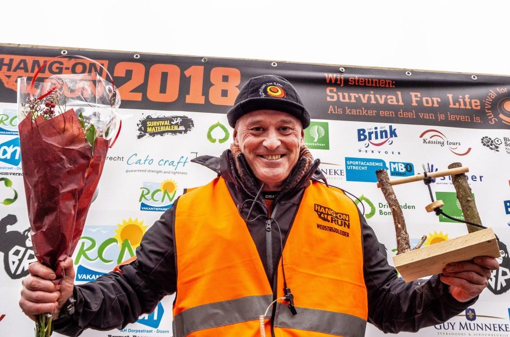 Organisator en trainer Erik de Heer wint 21km 50+ Foto: Sanne Mallant © Persgroep