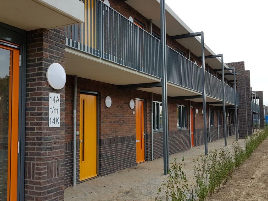 Aan de Verlengde Blokkenweg worden 19 appartementen opgeleverd Foto: Woonstede © Persgroep