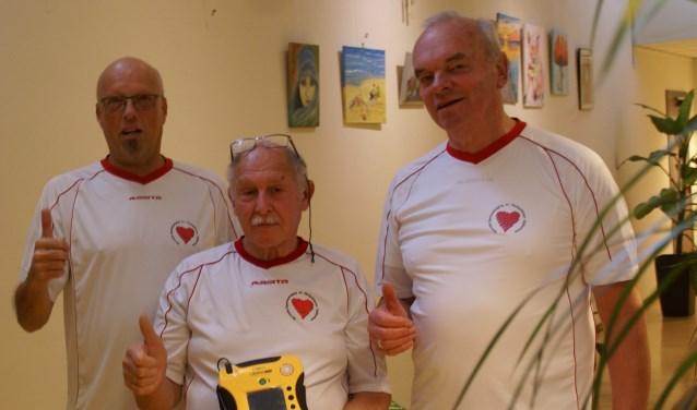 Bestuursleden: Ton van Wijngaarden, Steven van der Meer en Jan Siemons