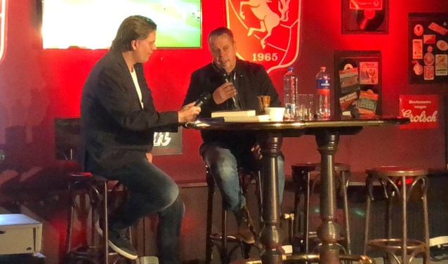 """Evert Bleuming (rechts): """"Fantastisch dat we ook nu weer op de steun van de Vriendenkring kunnen rekenen."""""""