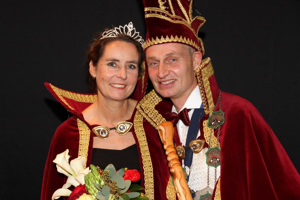 Prins Peter (Schipper) en prinses Janny zijn het nieuwe prinsenpaar van carnavalsvereniging De Nathalzen.