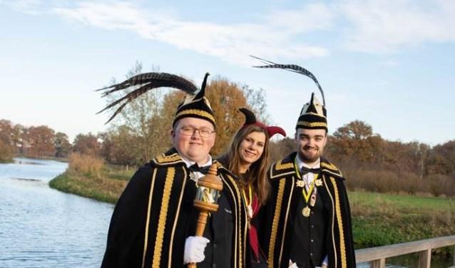 De graaf, rentmeester en hofnar van Ploegersland zijn vorige week bekendgemaakt.
