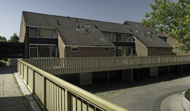 Een van de Zoetermeerse experimenten uit de jaren zeventig met het predicaat experimentele woningbouw 1968-1980: woondekken in Meerzicht. fotograaf: Lindy Schuin INDYMAH