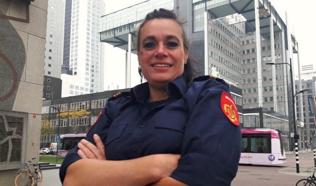 Amanda van Kuijk: 'Dat zorgzame was er altijd al.Ze noemen me de 'moeder van de kazerne'' (Foto: Arco van der Lee)