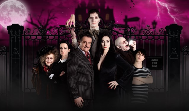 De cast van The Addams Family komt in december naar Den Haag. Foto: Margot van der Heide