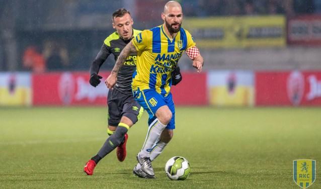 RKC Waalwijk won de vorige ontmoeting met Jong PSV met 3-2. Foto: Alexander de Peffer
