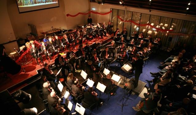 KRPH in actie tijdens een eerder concert