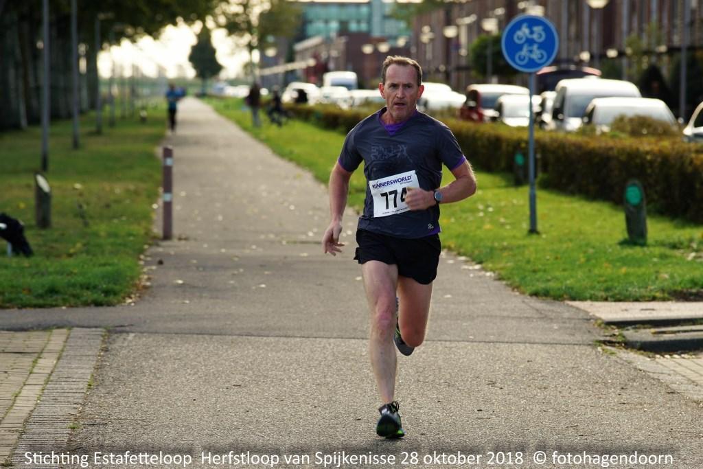 Winnaar van de 5 kilometer  © Persgroep