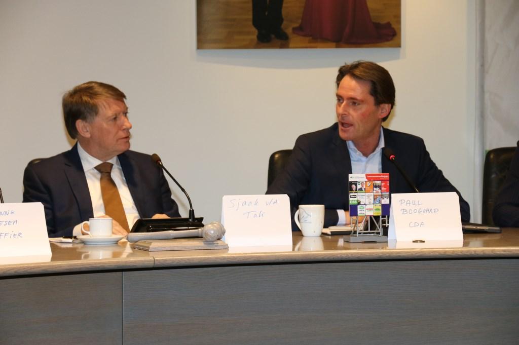 Verkenner Sjaak van der Tak (l) en Paul Boogaard.   © Persgroep
