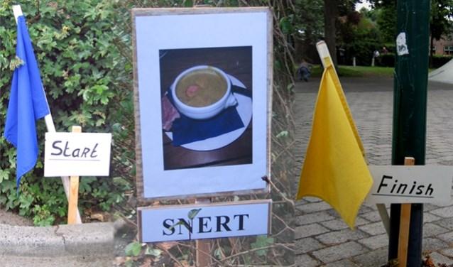 Snertrit - Autopuzzelrit met gratis snert.