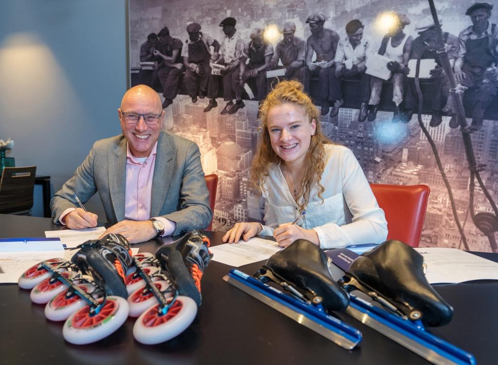 f9e7ed950f2 Bouwbedrijf Kelderman ondersteunt de Bennekomse schaatster en skeelerster  (17) Marit van Beijnum om haar Olympische dromen te realiseren.