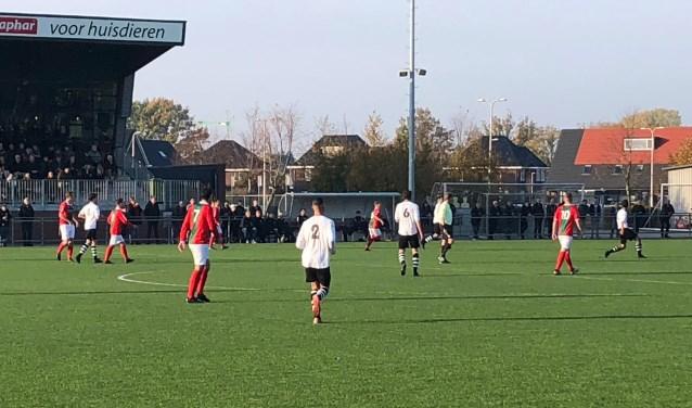 Bon Boys 1 versloeg zondag het sterke Schalkhaar in een boeiende confrontatie met 0-1.