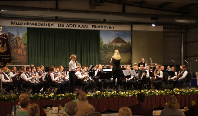 Het Riethovens Harmonie Corps. Foto: RHC.
