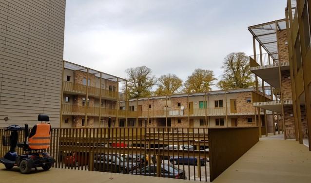 Aan de Bunschoterhof werden 55 appartementen opgeleverd.