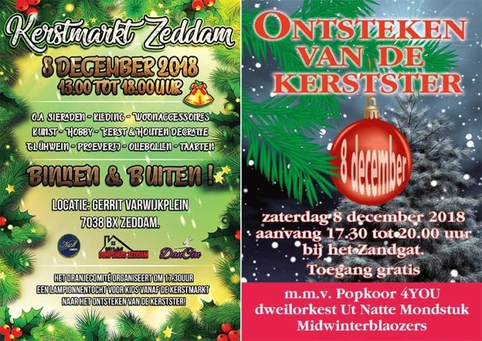 Activiteit Kerstmarkt En Ontsteken Kerstster Zeddam Montferland