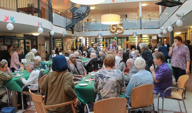 Woonzorgcentrum Vredenoord viert een maand lang 65 jaar.