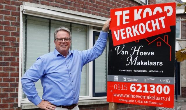 Hendrik van Hoeve, voorzitter van NVM. Foto: Camile Schelstraete.