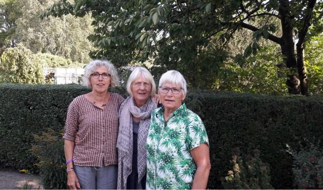 V.l.n.r. Netty Som, Wil te Boekhorst en Thea Kaaijk