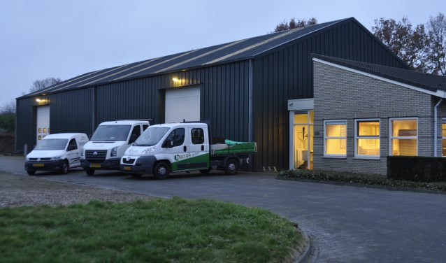 De gezamenlijke vestiging in Borculo van Axent Groen, Berkelgroen en Hacron Groen. Foto: R. te Kaat