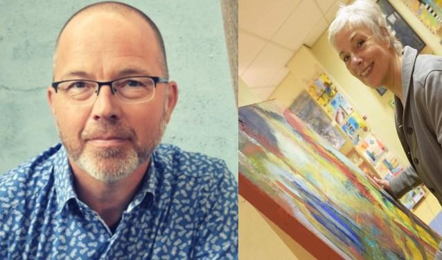 Kemp van Ginkel en Jeanie van der Heide