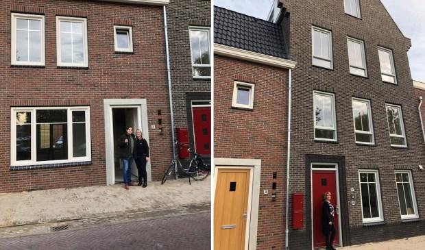Oplevering woningen aan de Houtwal in Groenlo.