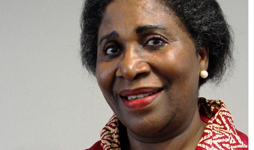Angelique Muaji uit Soest, geboren in Kapanga (Congo). (Foto: Nabil Nabo)