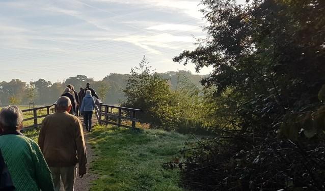 Kennis maken met wandelen onder begeleiding (foto: PR)