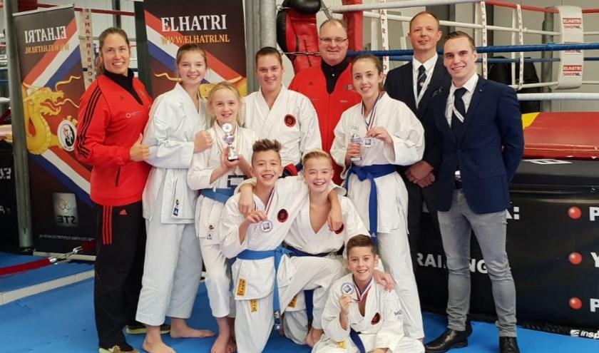Karateka's, coaches en scheidsrechters van Bushido