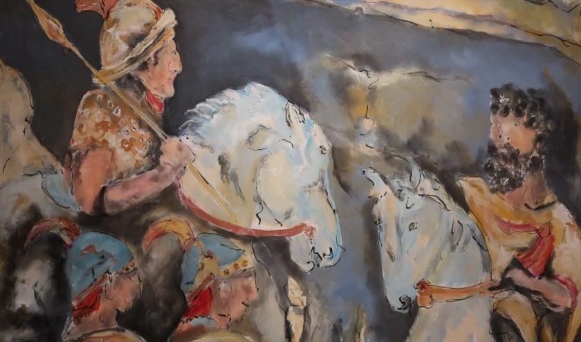 Een van de intrigerende werken die te zien zal zijn tijdens de expositie.
