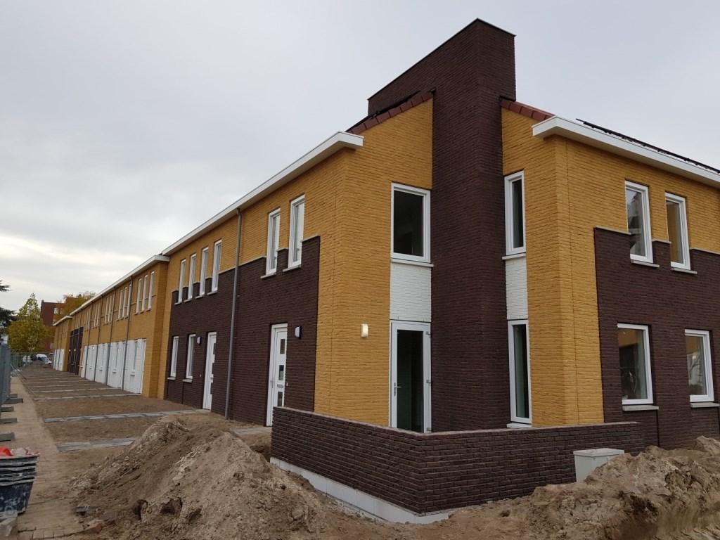 In de Uitvindersbuurt zijn 29 eengezinswoningen opgeleverd. Foto: Woonstede © Persgroep