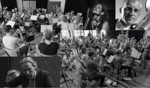 OFO en dirigent met Oystein Baadsvik en Marlies Claasen.