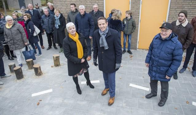 Roland van Kessel tijdens zijn bezoek aan basisschool 't Lange in Gastel. Foto: FotoDeMeus