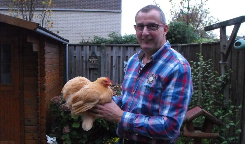 """Roelof Wassens: """"In Denemarken is dit weekend een Europese show. Daar gaan veel fokkers naartoe. Ik denk dat we daardoor zo'n honderd dieren minder hebben in Haaksbergen, maar dat nemen we op de koop toe."""""""