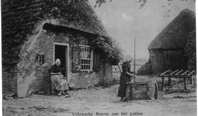 Een huis honderd jaar geleden.